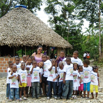 Provide a safe place for kids in rural Colombia