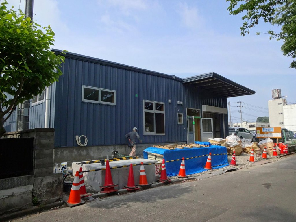 Baikado Factory Construction Nearing Completion