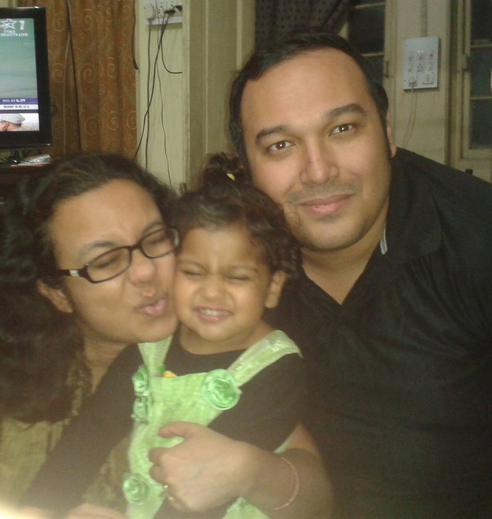 A happy family....