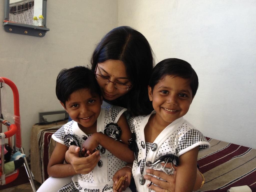 Seeta and Geeta became Juhi and Mahi.......