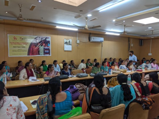 Anganwadi Workers training in Madhya Pradesh