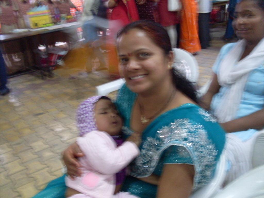 Saksham is safe & secure in his mom