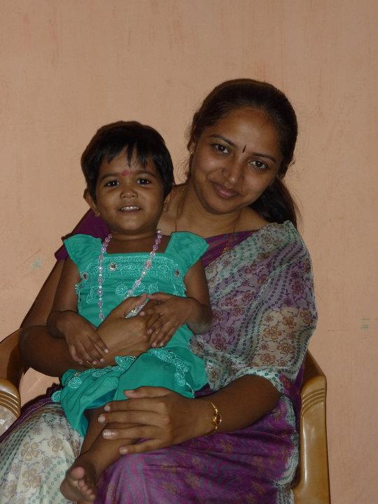 Ragini now Shradha with her loving mom