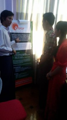 Students' visit to EPOP office