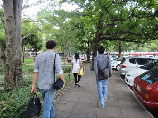 w/ Scholarship Recipients and Thabyay @ university
