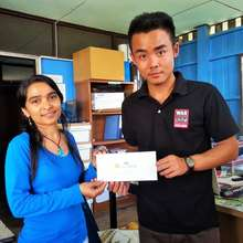 EPOP student receives his TOEFL ITP certificate