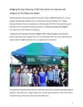 Bridging the Gap:Thabyay GEDTest Center in Mae Sot (PDF)