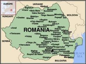 Romania Animal Rescue:  Map of our help