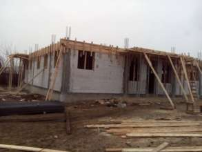 The RAR Spay/Neuter Center under construction