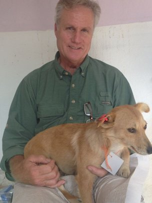 Rory Janes, volunteer