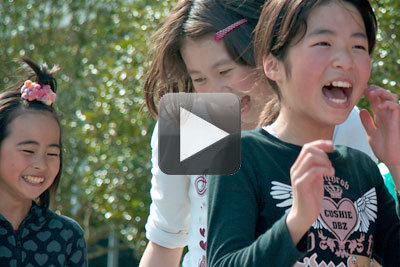 Japanese Girls at Mercy Corps