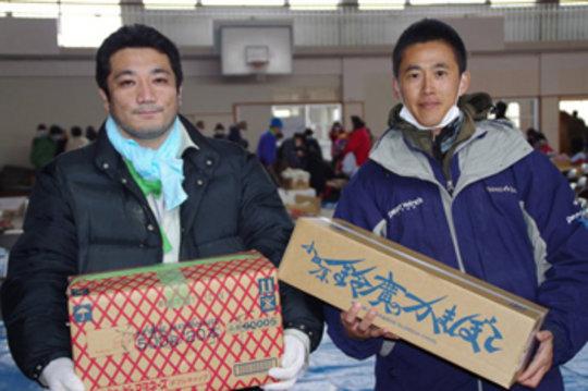 Delivering relief to displaced disaster survivors
