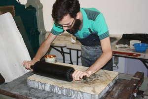 Resident Artist Brent Erickson, Working at MUTEC