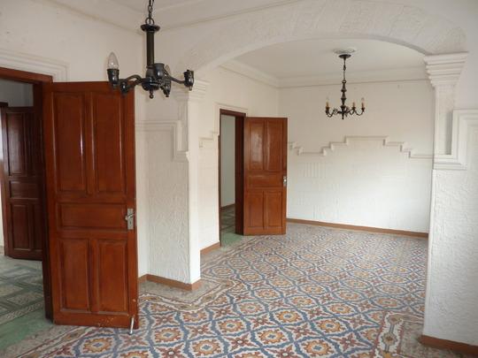Inside the second floor