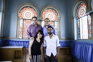 Arquetopia's staff: Chris, Paco, Nayeli, Roberto