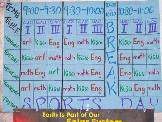 AMAP Class Schedule