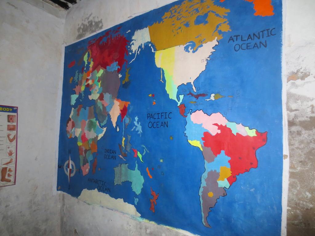 World Map AMAP School