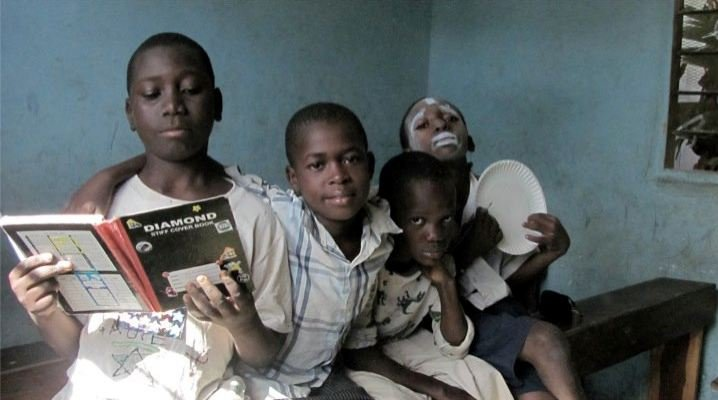 Children in classroom. Bagamoyo Town. Learning, living and loving life.
