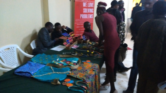 Jewelry and tailoring exhibition