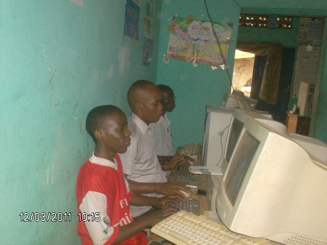 Children also learning computer