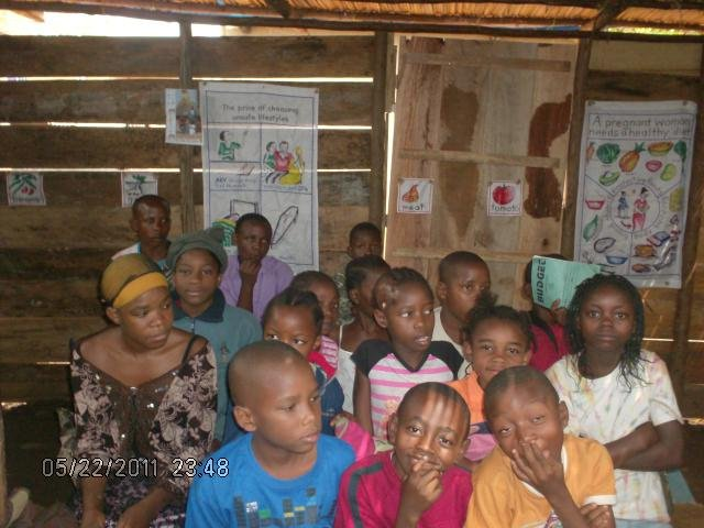 Children in the new class