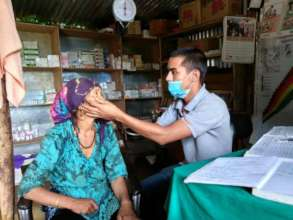 PHASE Health worker with a patient
