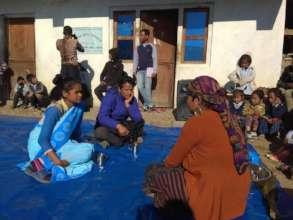 An awareness programme about health (street drama)
