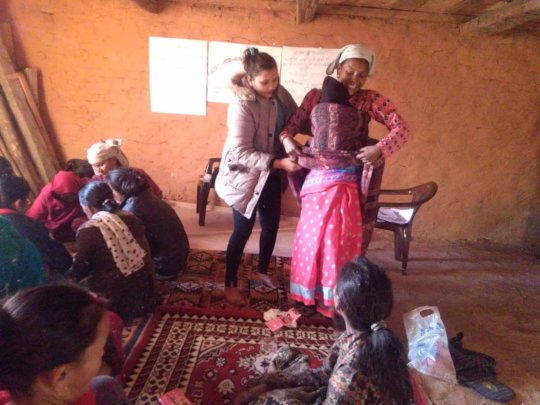CBIMNCI Training for Mothers Group and FCHVs