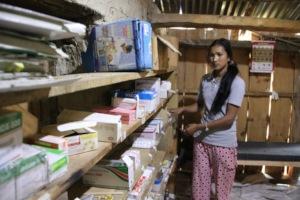 A PHASE Nurse Managing Medicine Storage