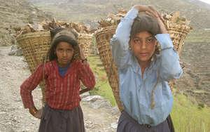 Girls from Maila Village, Humla