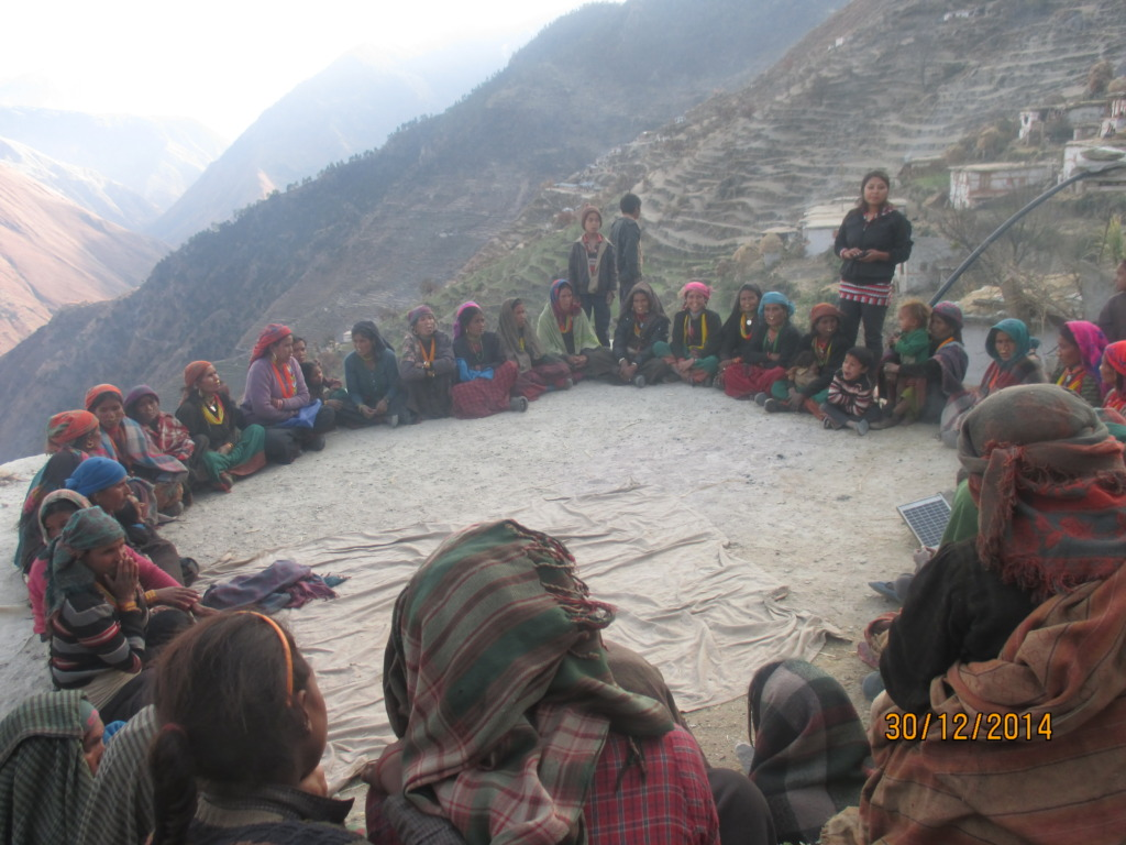 Community health education programme in Maila
