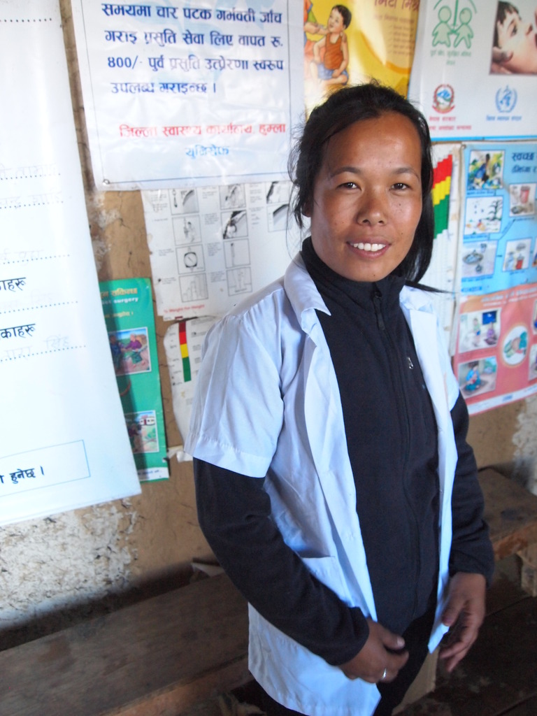 Nurse Kalpana (portrait)
