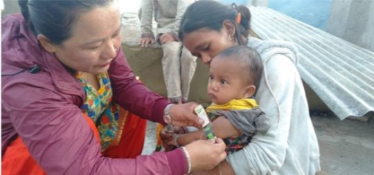 A child's nutrition assessment in the community