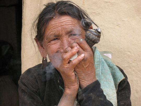 Tobacco smoking is common amongst both men & women