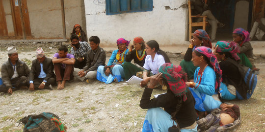 Clinic Health Education in Maila clinic