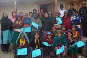 Mothers group after child health training