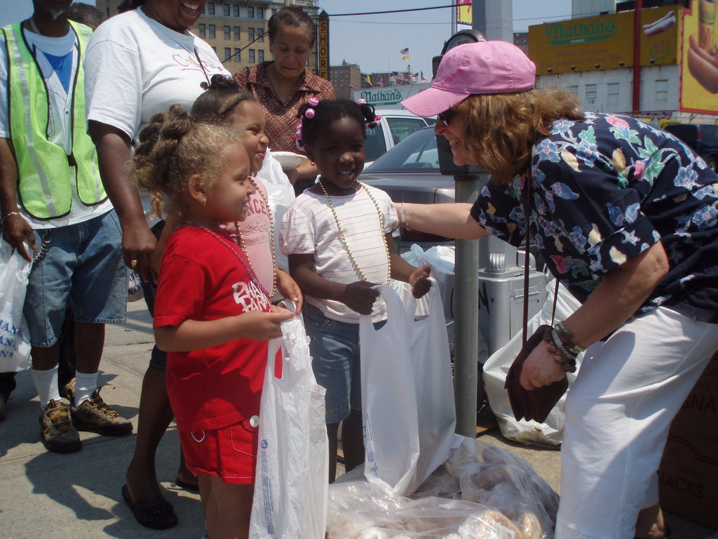 We go out into the community and serve.