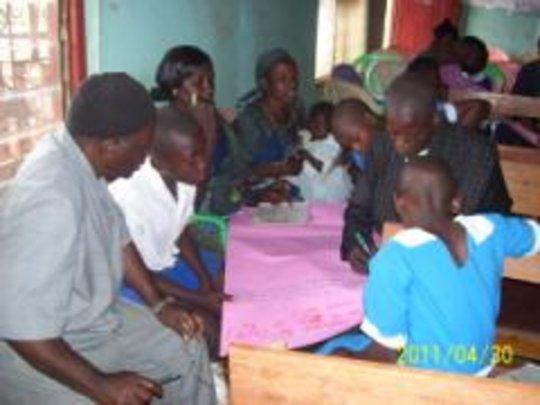 health scouts and cordinators brainstorming