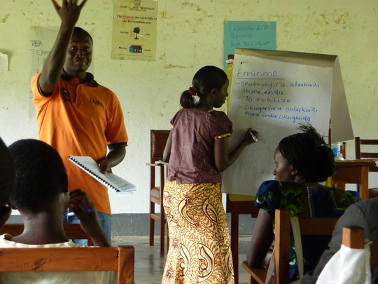 Training of community health workers.