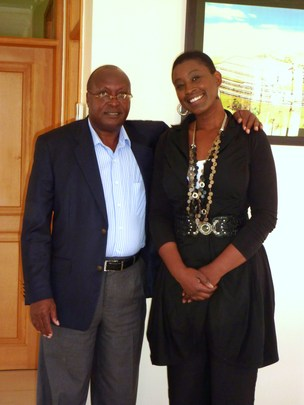 Michelle's visit to Uganda!