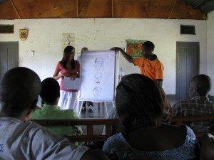 VHT members attend the safe motherhood workshop