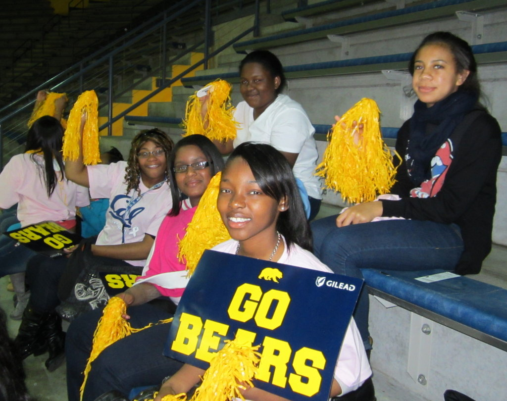 Celebrating a UCB Cal Bears Victory!