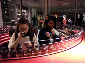 Learning about the science of making perfume
