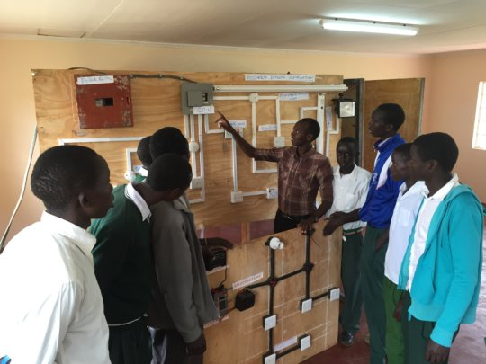 Mathew, Electrical trainee in Chepkanga