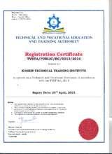 Koshyn Registration Certificate - KTTI (PDF)