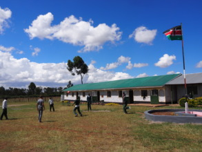 New classrooms at Chepkanga campus