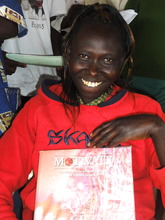 Risper, electrical student in Kenya