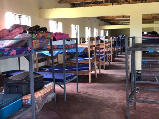 Bunking capacity for 150 young women