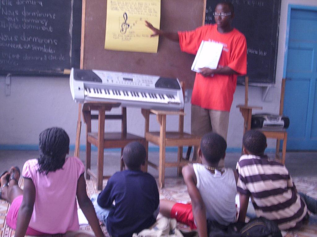 Teach Peace through Music in Liberia