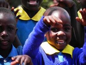 A Happy Primary Student